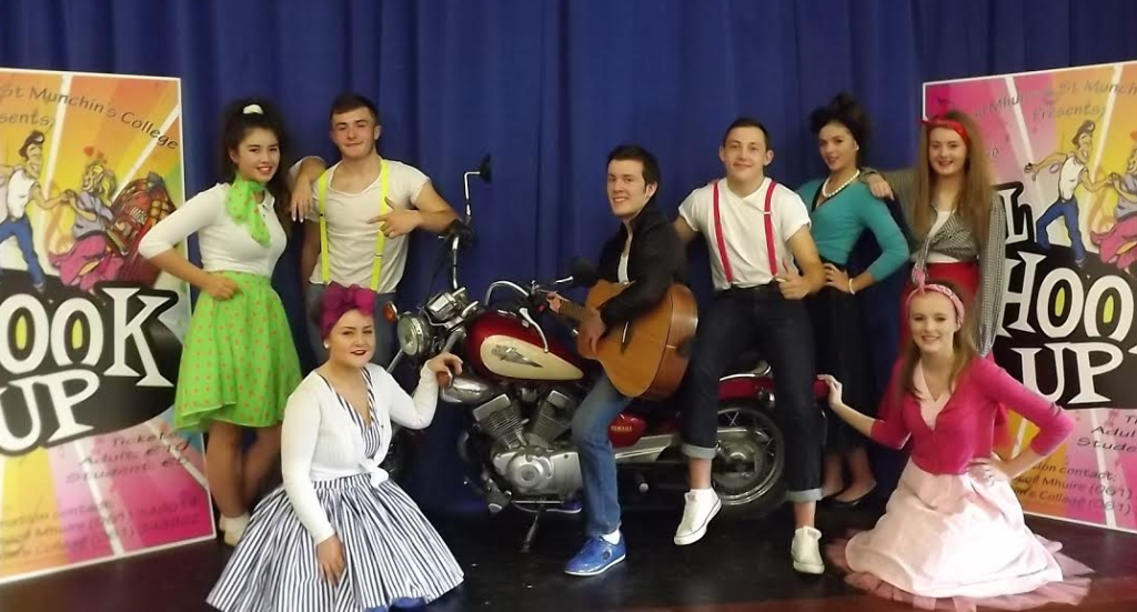 St Munchin's College and Ardscoil Mhuire are All Shook Up