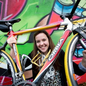 Ciara Meikle from University of Limerick at the National Transport Authority's prize giving event for Limerick entrants to the Student Cycling Challenge hosted by Limerick Smarter Travel. Pic Sean Curtin Photo.