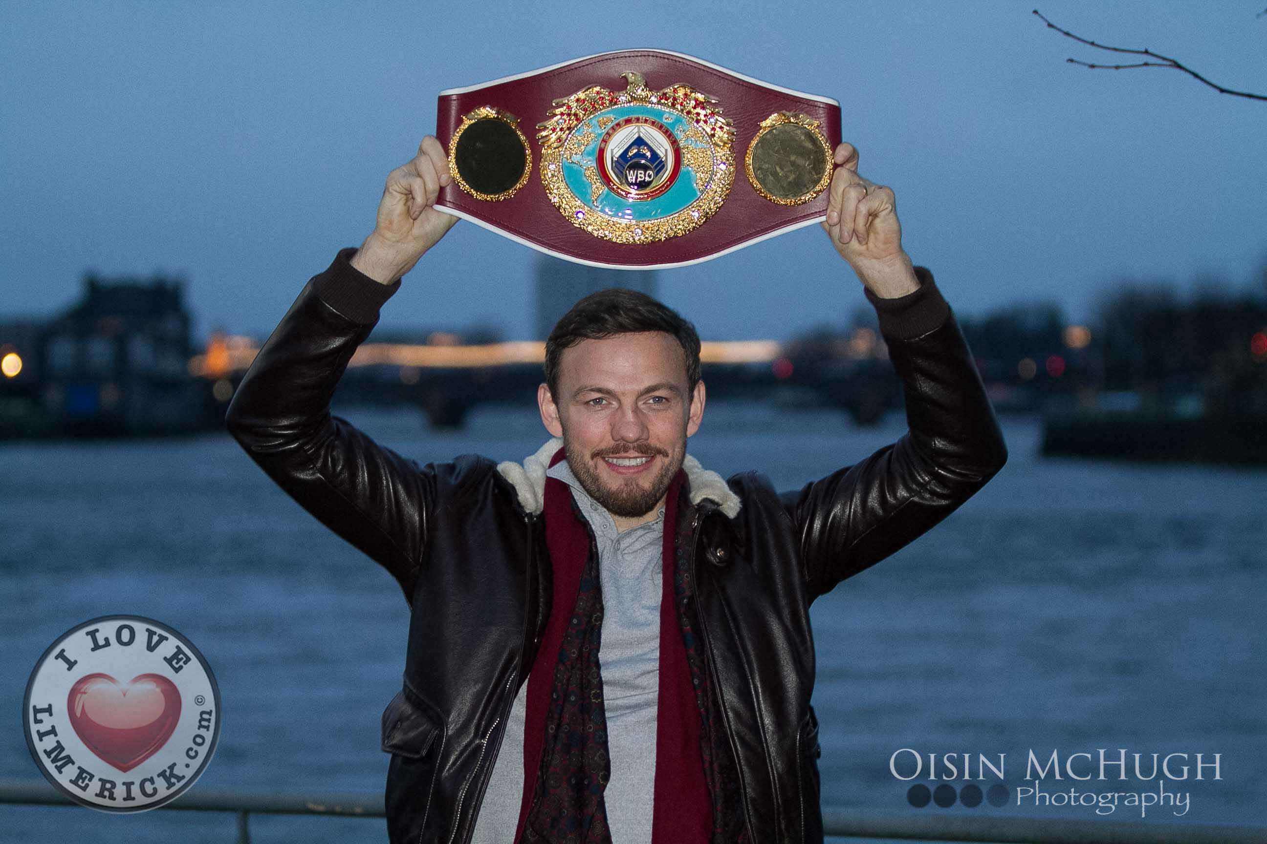 Andy Lee St Francis Boxing Club return. 'A City's Love Affair' produced by Eric Moylan starring Andy Lee