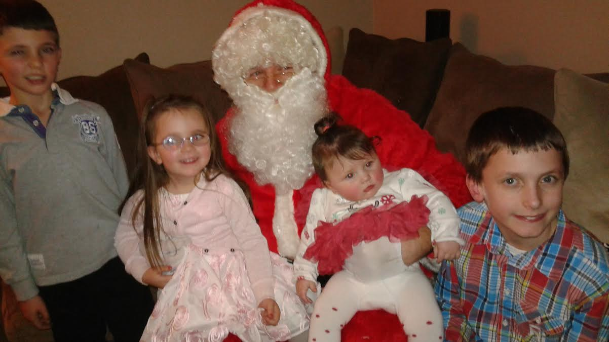 Dream Machine delivers Santa to the door of Limerick Boy Joey