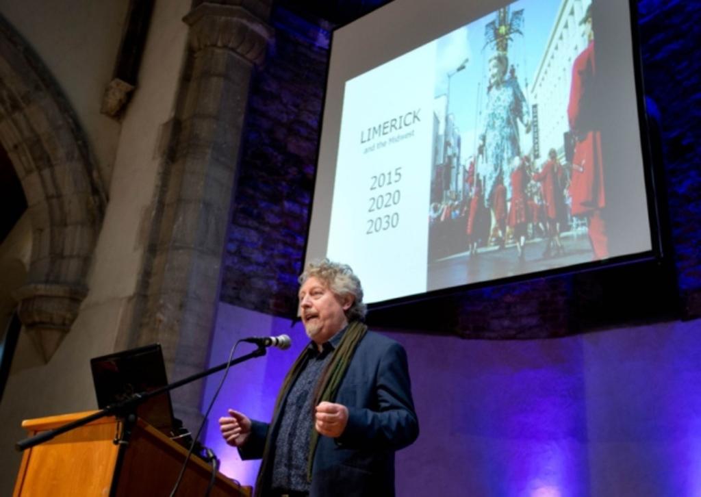 Team created for Limerick bid for European Capital of Culture 2020