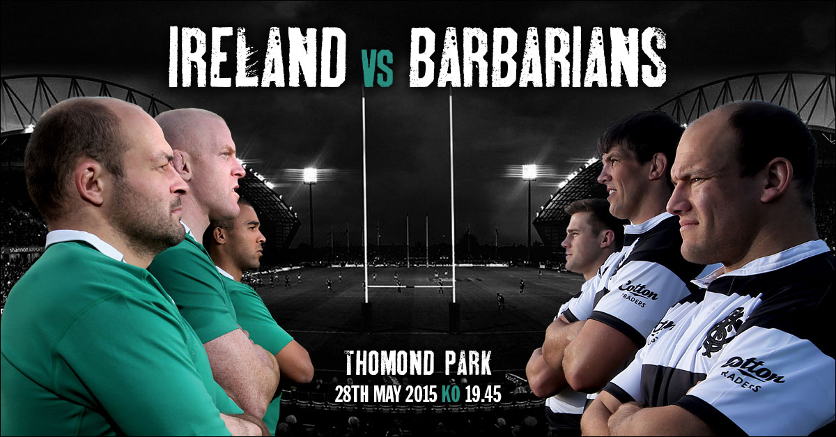 Ireland v Barbarians