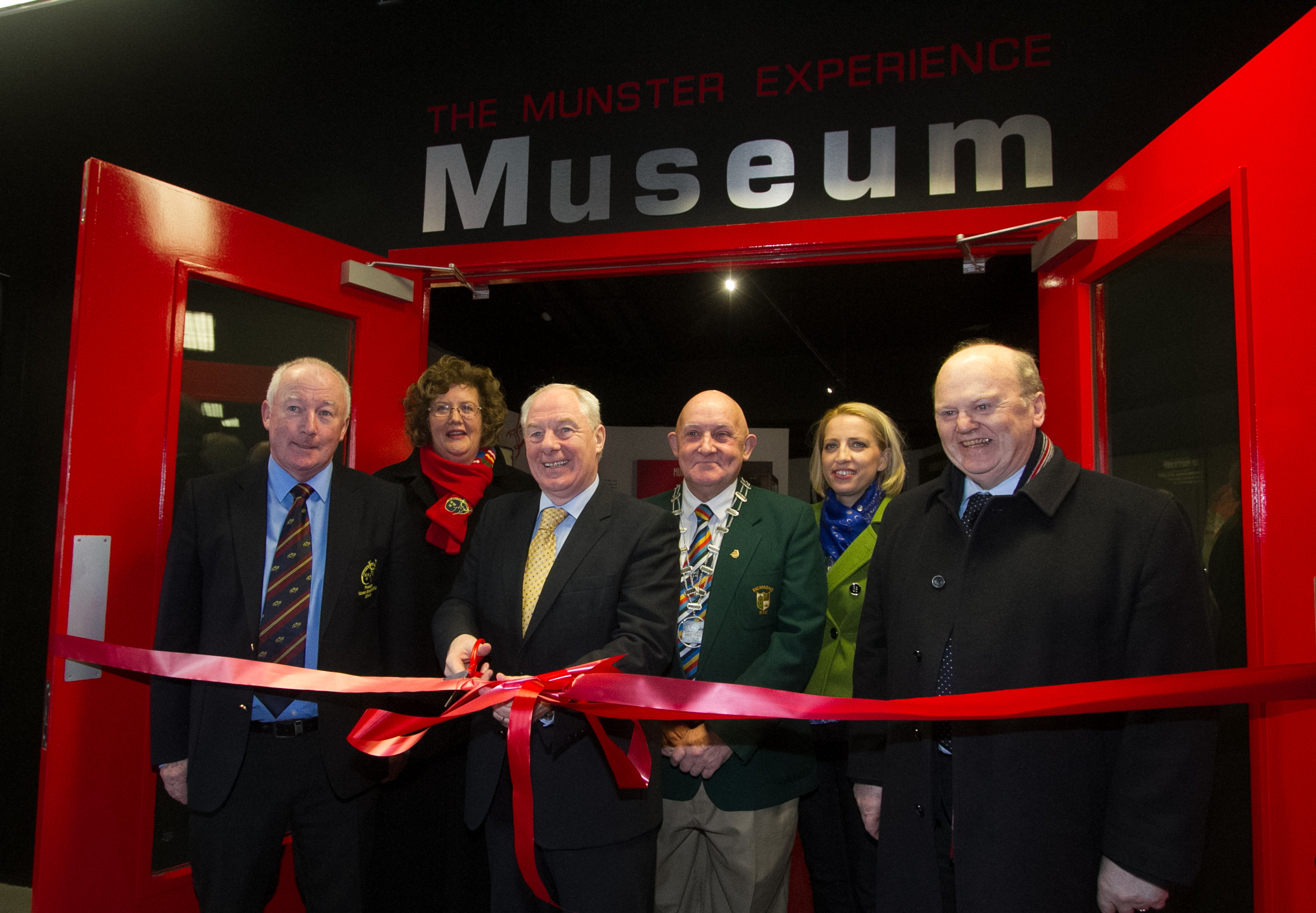 Official Opening of New Thomond Park Museum