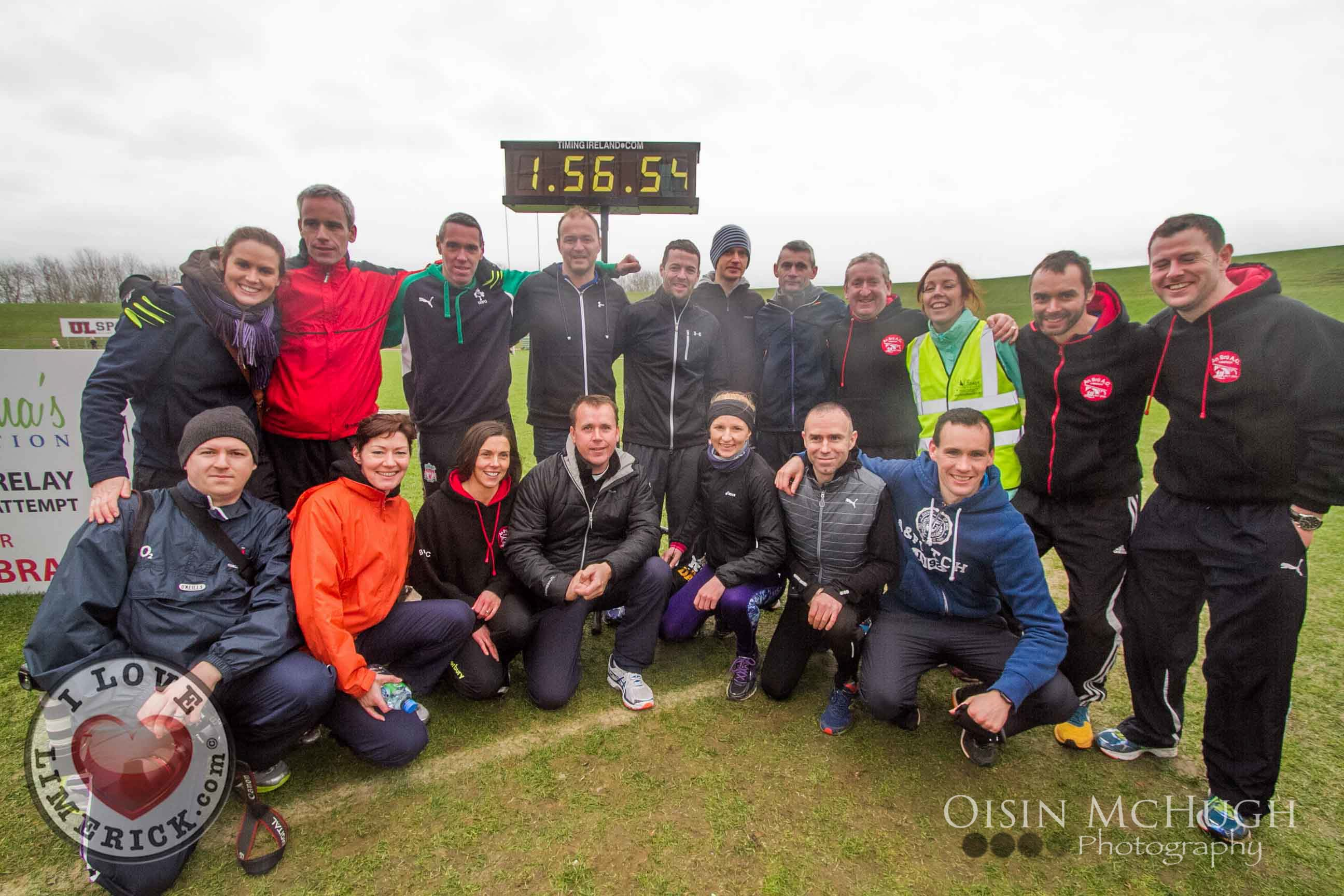 clionas foundation relay marathon limerick