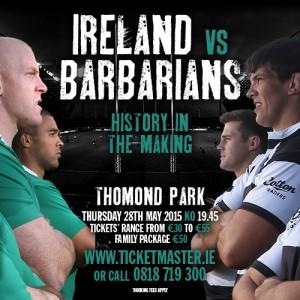 Ireland v Barbarians
