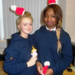 Students bring festive cheer to Neonatal Unit