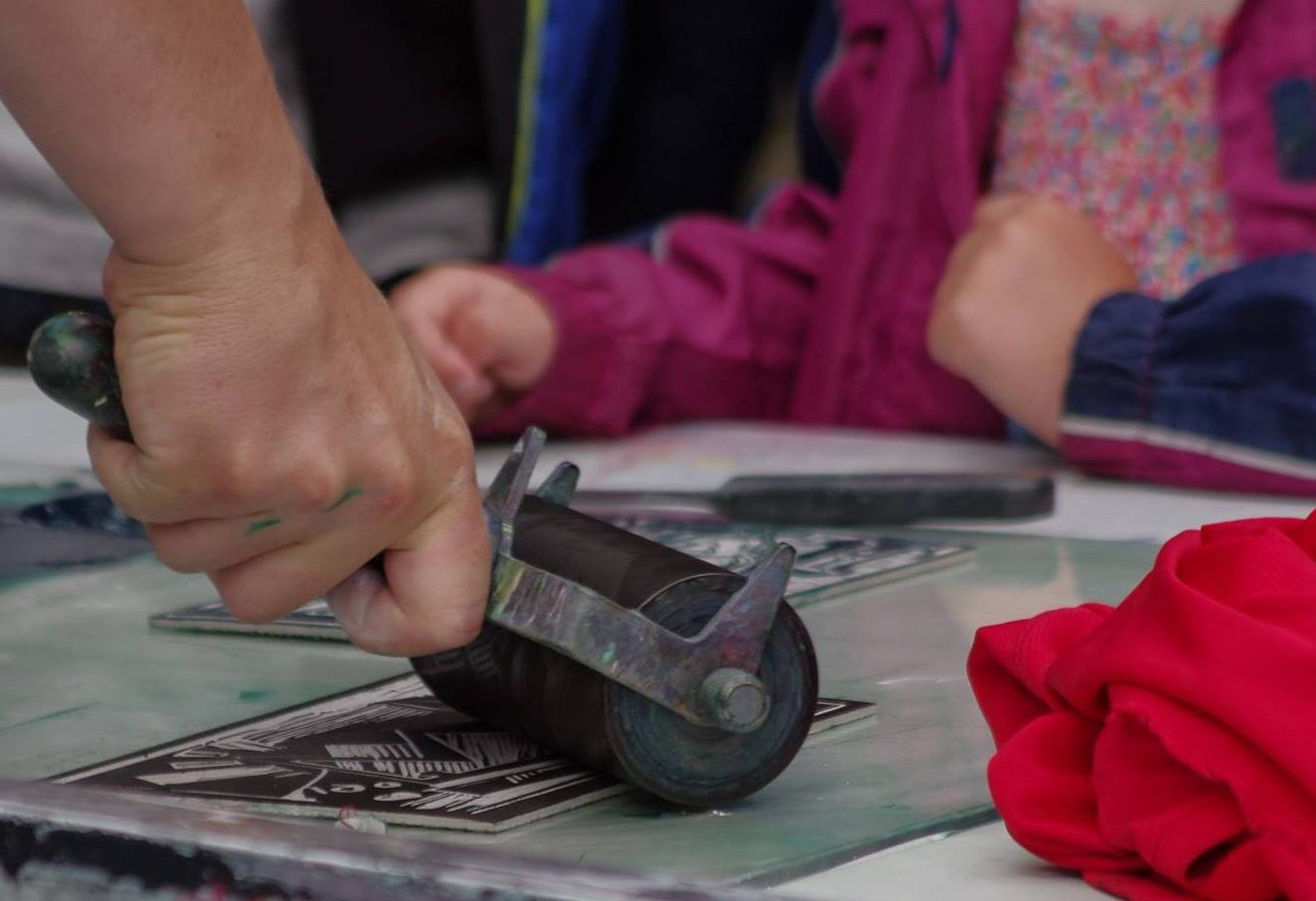 Adult printmaking course at Limerick Printmakers