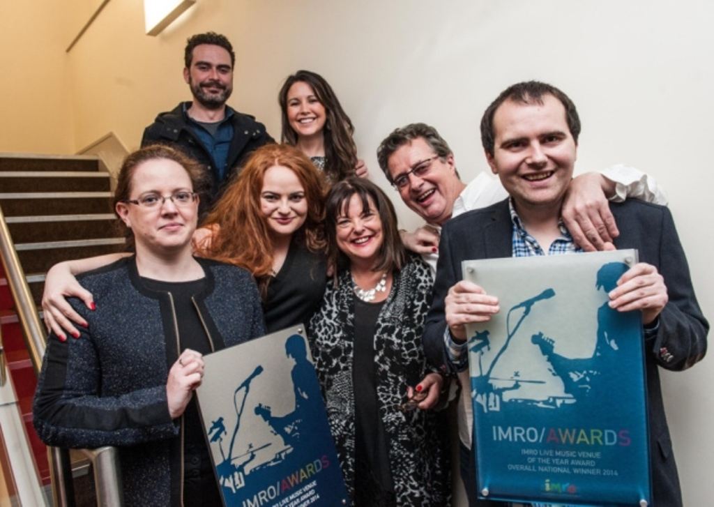 Dolan's and UCH celebrate victory at IMRO awards