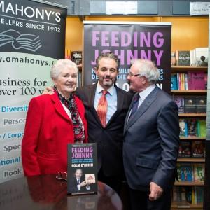 Colm O Brien book Feeding Johnny