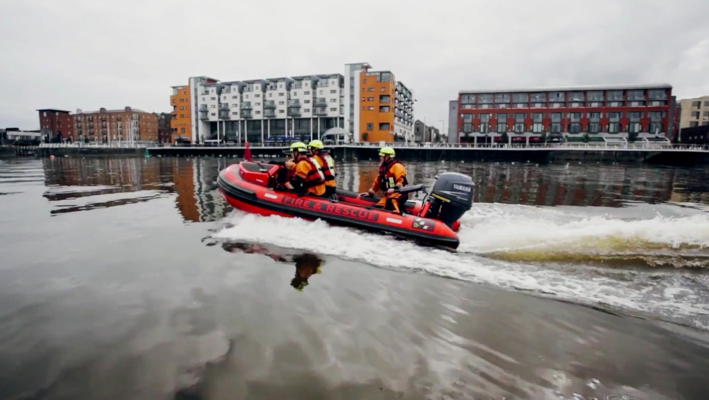 Limerick School Children Invited to name New Fire and Rescue Service Boat