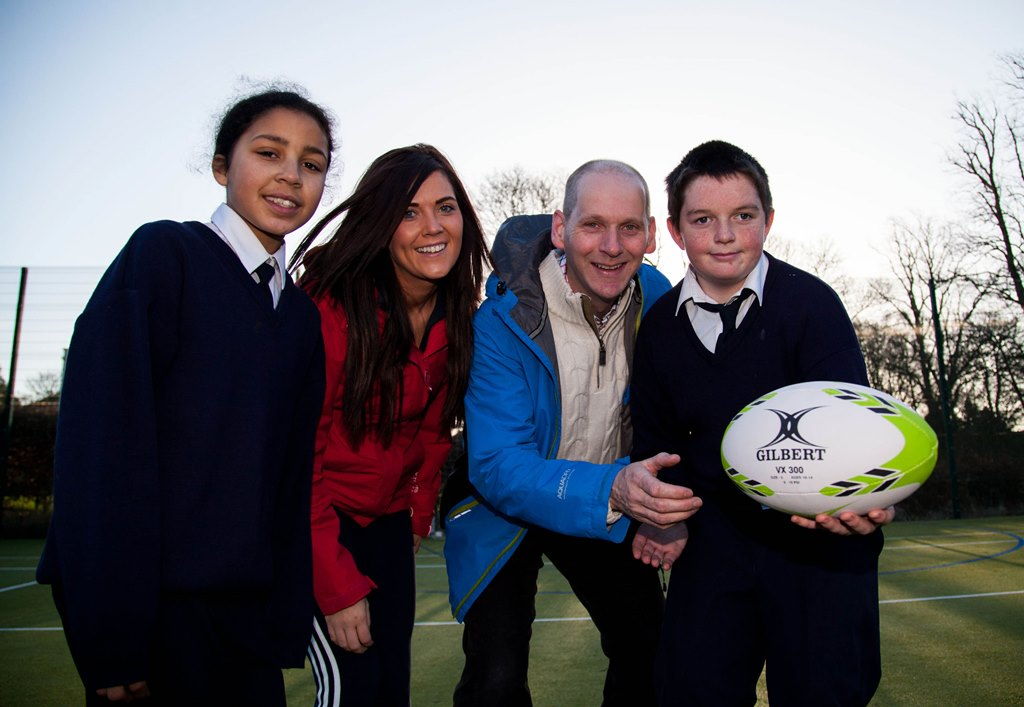 Catherine McAuley School students on the ball with new programme