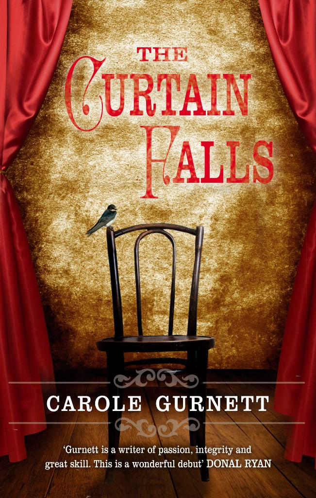 On March 1st, Carole's book The Curtain Falls will be available in bookshops.