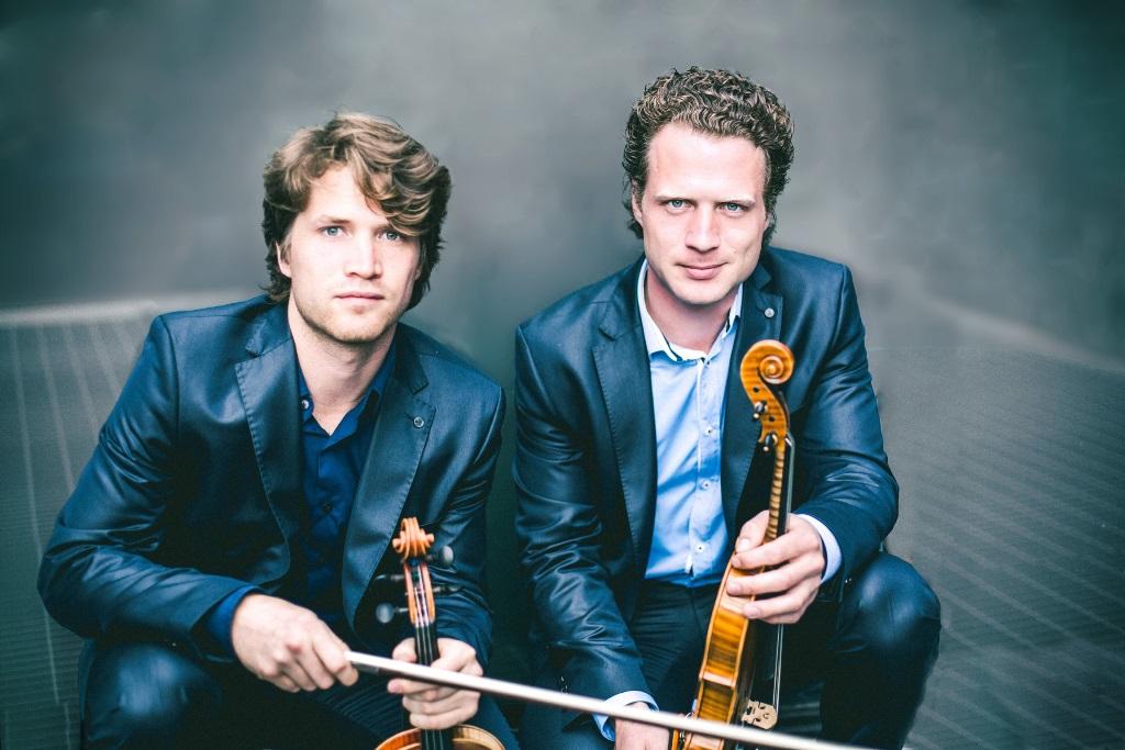 Violinists Vladimir & Anton Jablokov at UCH on Mar 8.
