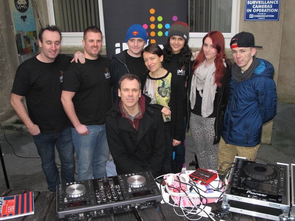 PHOTOS LCFE's online radio station iMix launched Monday