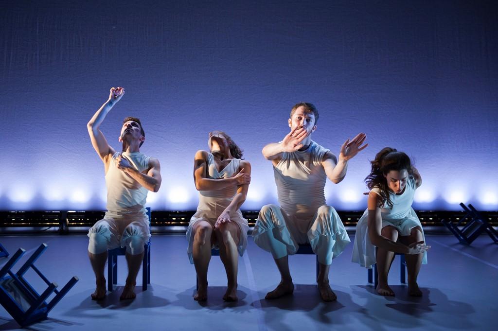 Maiden Voyage Dance presents Quartet for 15 Chairs