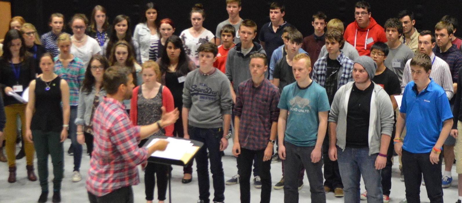 Irish youth Training Choir