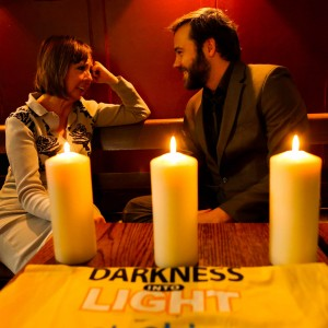 Pictured were (l to r) Joan Freeman; Founder of Pieta House and Moe Dunford; Actor at the national launch of Darkness Into Light.