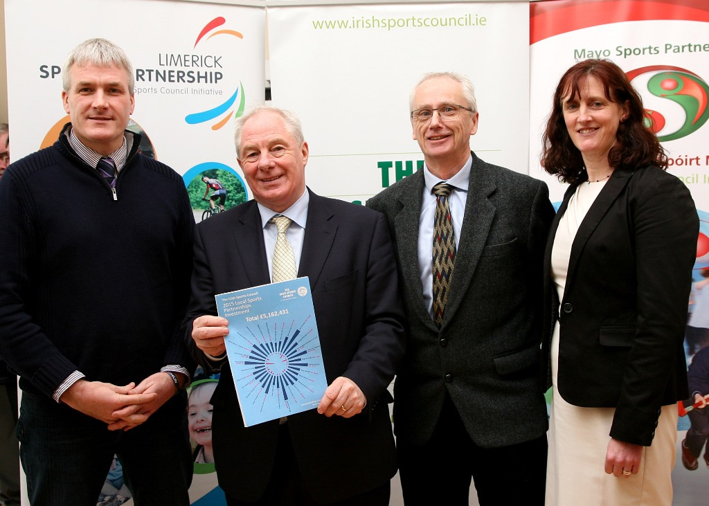 €305,000 allocated to Limerick Sports Partnership