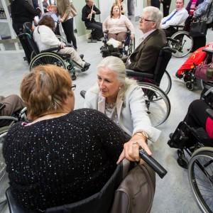 Loretta Brennan Glucksman opened Resource Centre for IWA