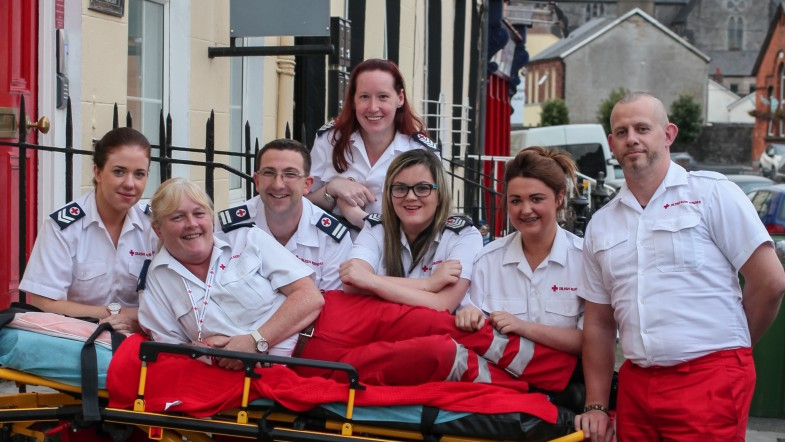 Irish Red Cross 75 Years in Limerick