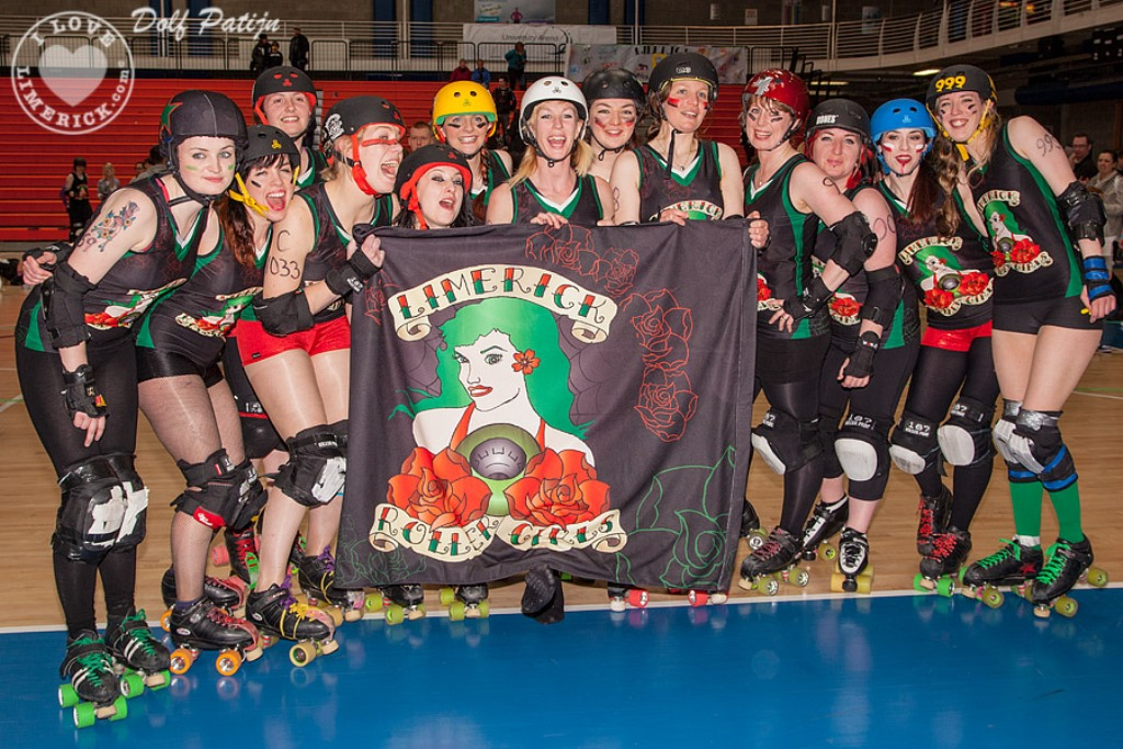 Limerick host International Roller Derby Bootcamp