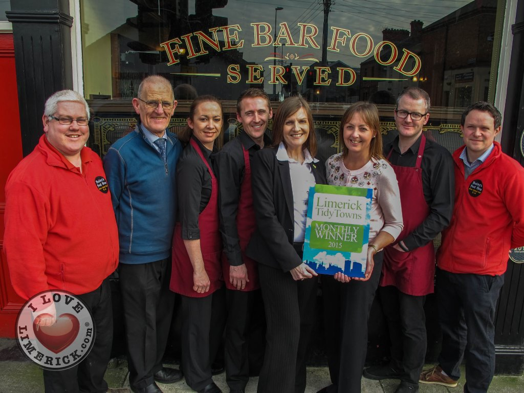 Bobby Byrnes win Limerick Tidy Towns Monthly Award for March 2015