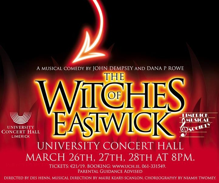 Limerick Musical Society presents The Witches of Eastwick