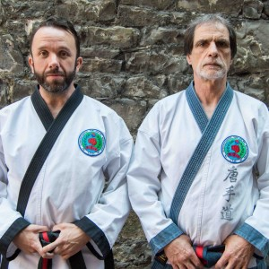 Master Pat Forde and Grandmaster Dominik Giacobbe