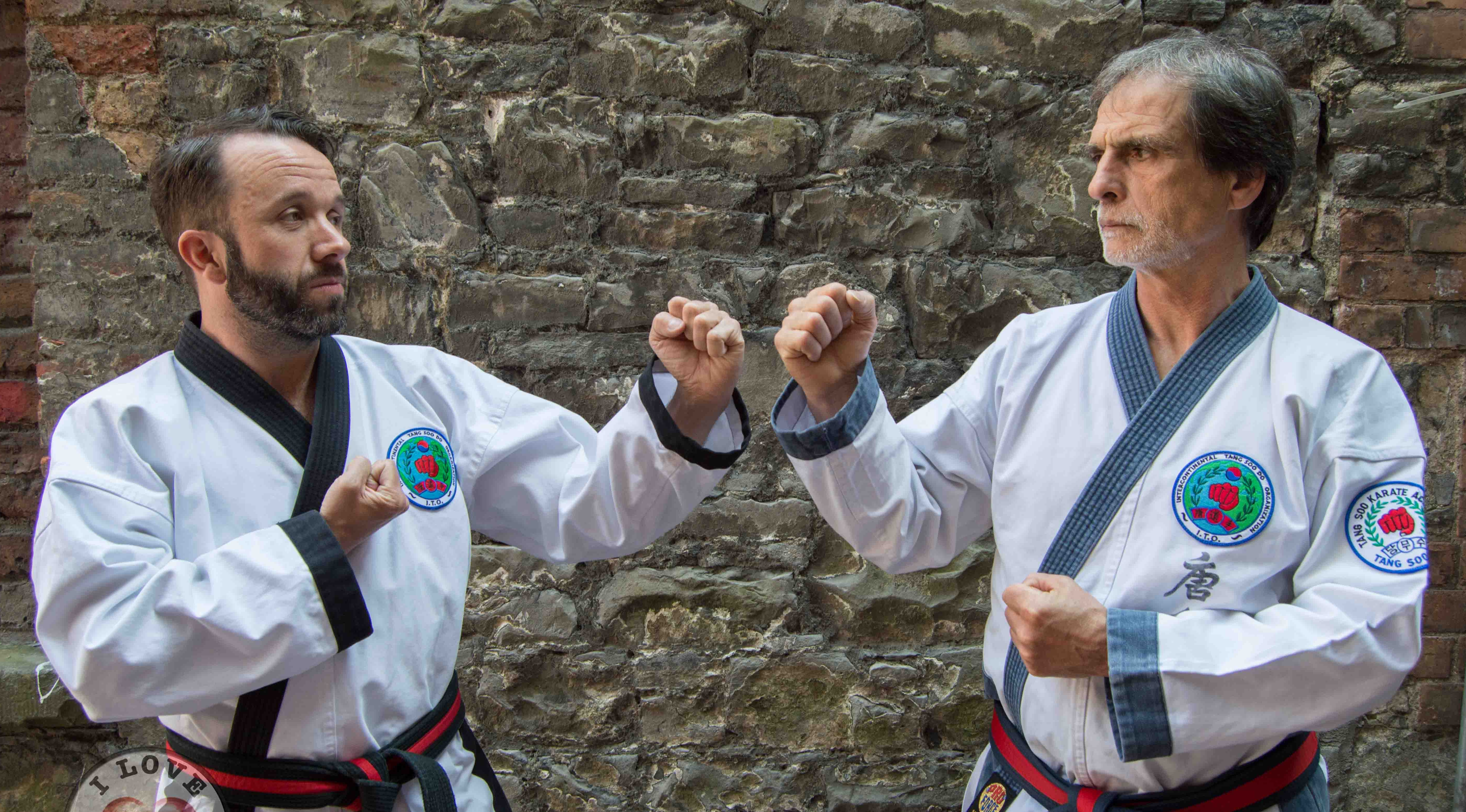 Grandmaster Dominik Giacobbe and Master Pat Forde