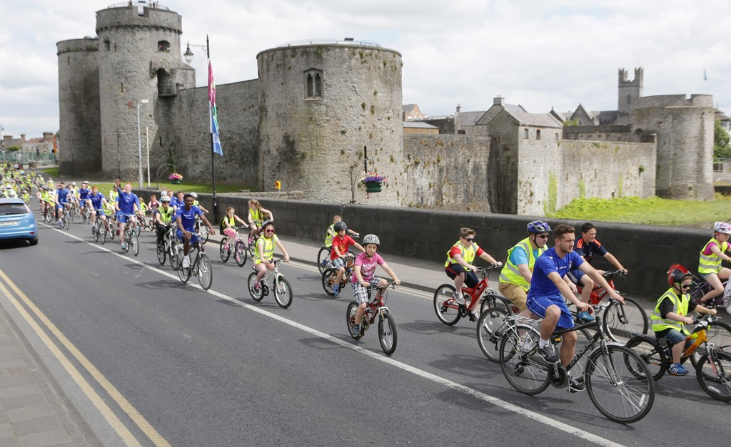 Limerick Smarter Travel invites applications for National Bike Week