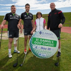 Munster Rugby Launch St Gabriels Golf Classic