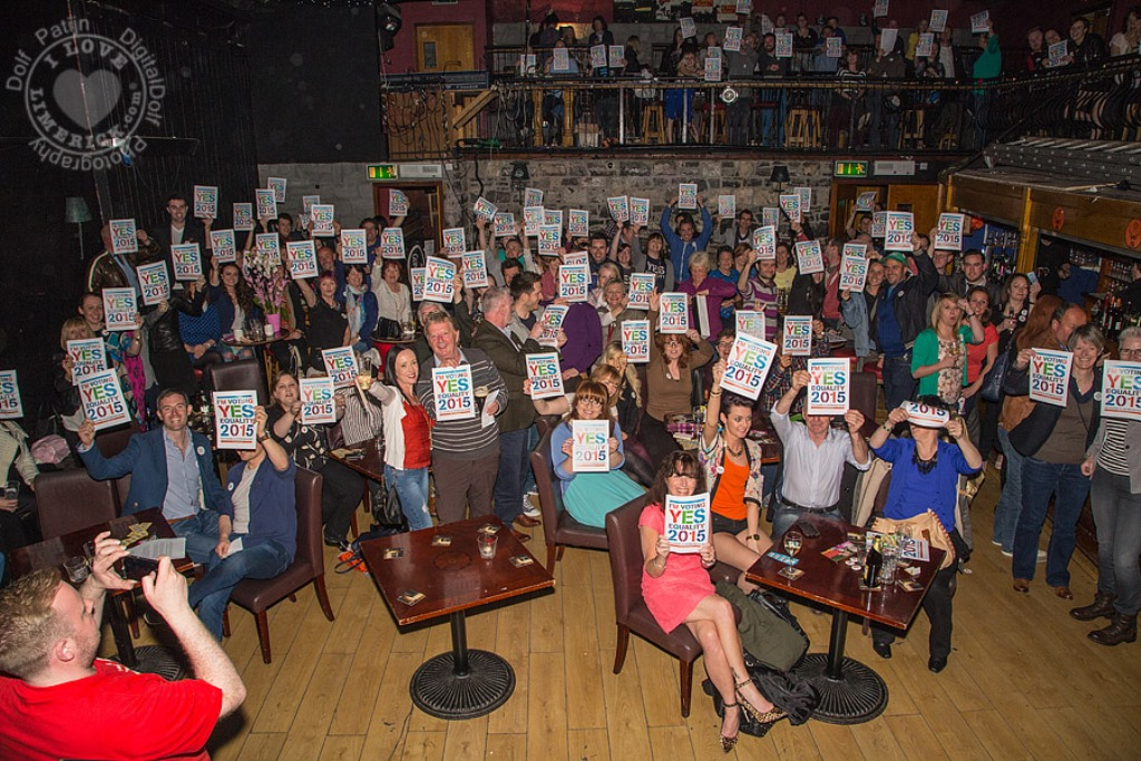 Marriage Equality Cabaret in Dolan's Warehouse
