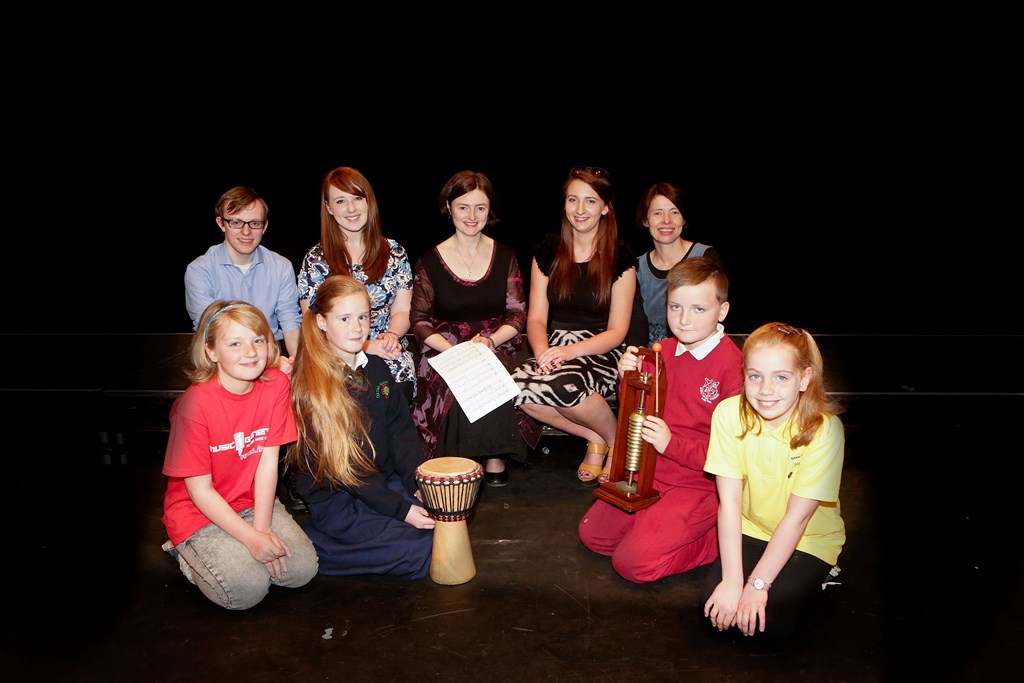 MIC Children's Choir deliver a wonderful performance in the Lime Tree Theatre
