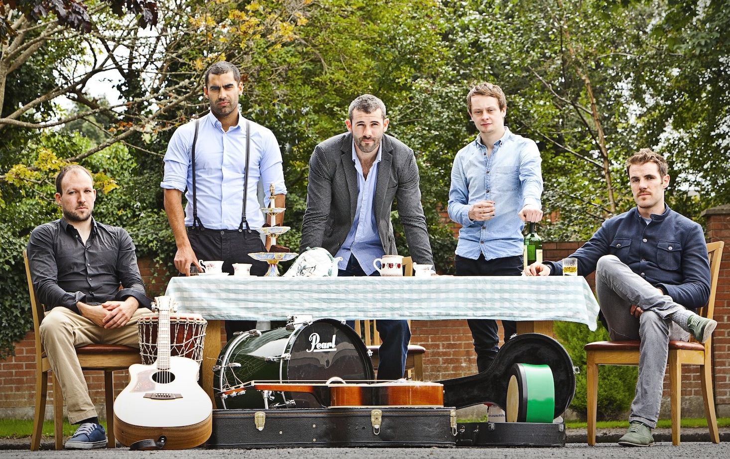 Hermitage Green get a record deal with Sony