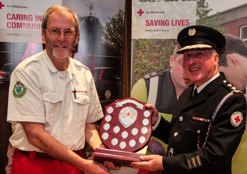 IRISH RED CROSS VOLUNTEERS HONOURED AT AWARDS NIGHT