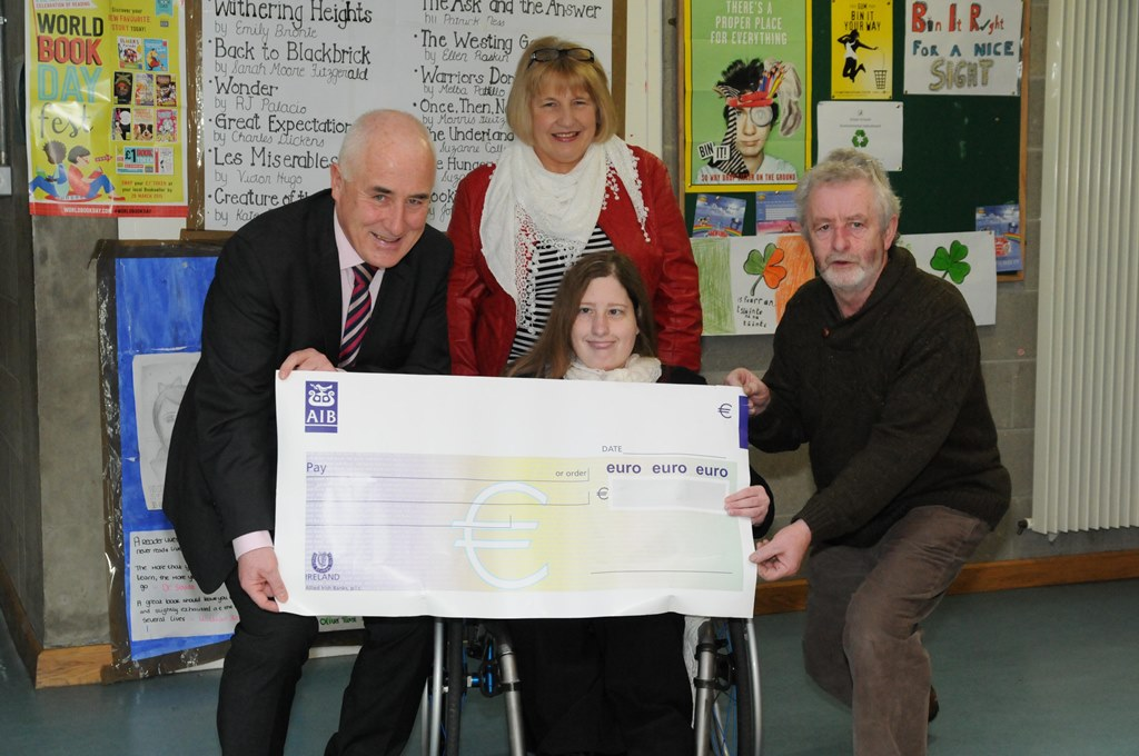 Principal's Fundraiser results in €2500 for Mid-West Spina Bifida & Hydrocephalus Association - See more at: http://www.ilovelimerick.ie/?p=81139&preview=true#sthash.MNkcCZrF.dpuf