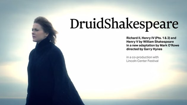 DruidShakespeare on national tour June 2015