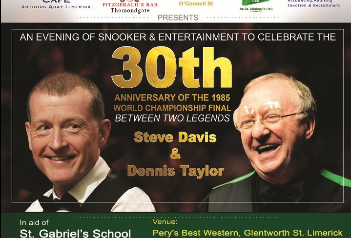 Snooker evening in aid of St Gabriels School & Centre
