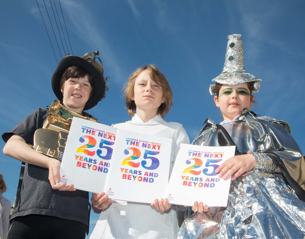To the Future and Beyond with Limerick School Project Book Release