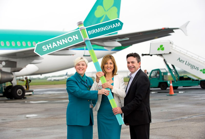 Shannon Birmingham Aer Lingus