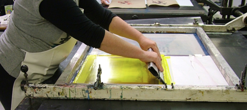 4 Week Silkscreen Course on Tuesdays from June 23
