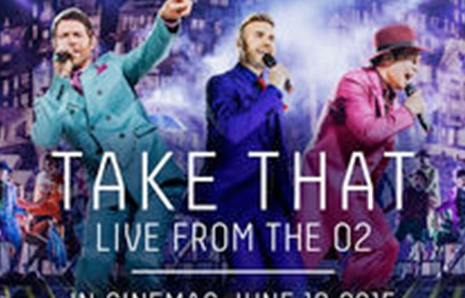 Take That tour streamed live at ODEON Limerick