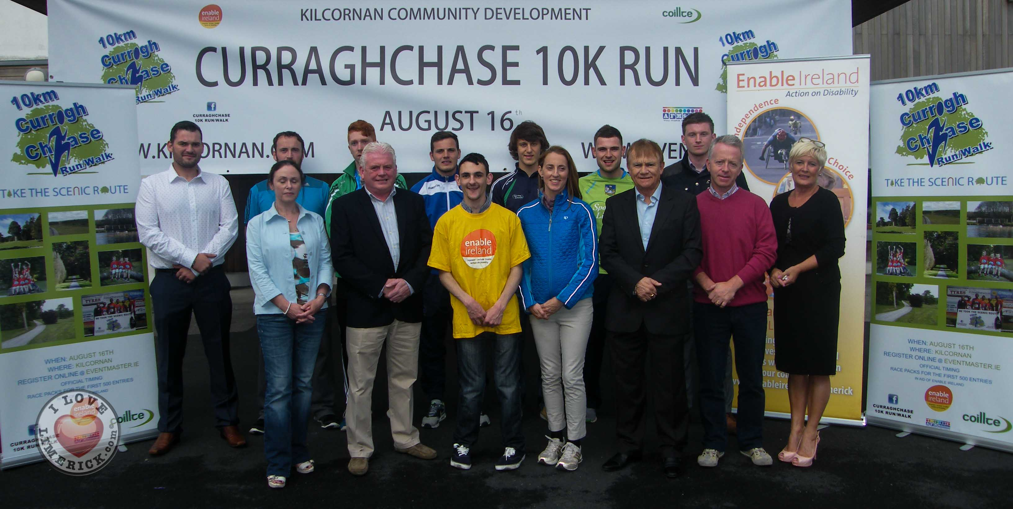 Curraghchase 10k Run for Enable Ireland