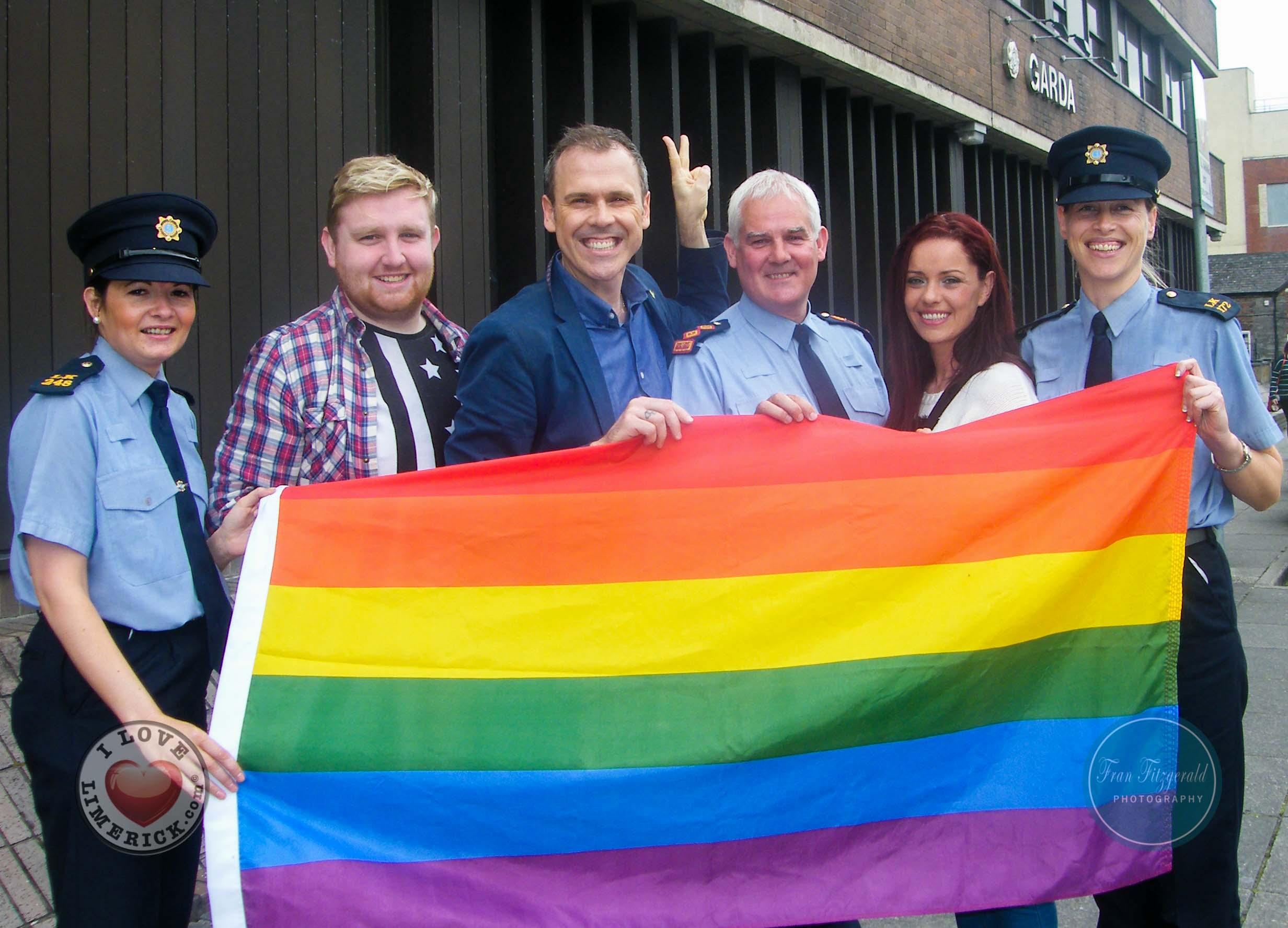 Limerick Garda station flies pride flag for equality
