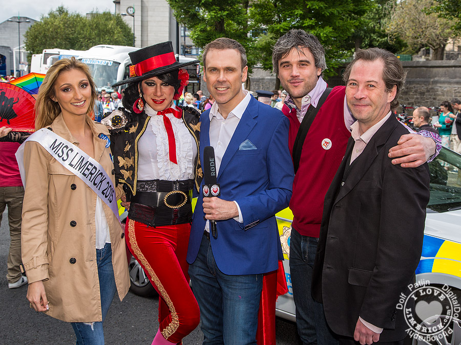 Limerick Pride Parade 2015 hosts another entertaining day