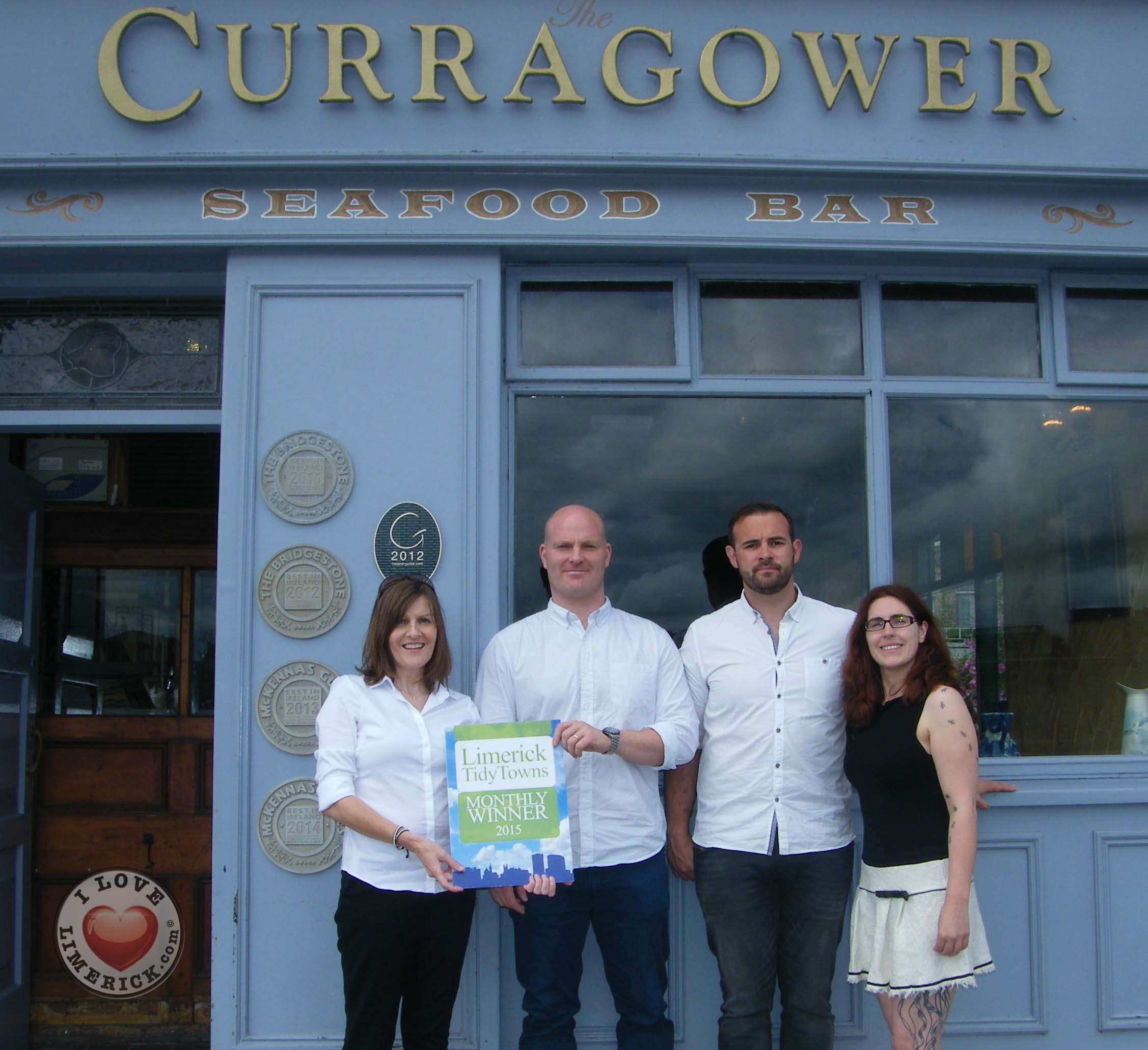 The Curragower seafood bar wins award from Limerick Tidy Towns for August
