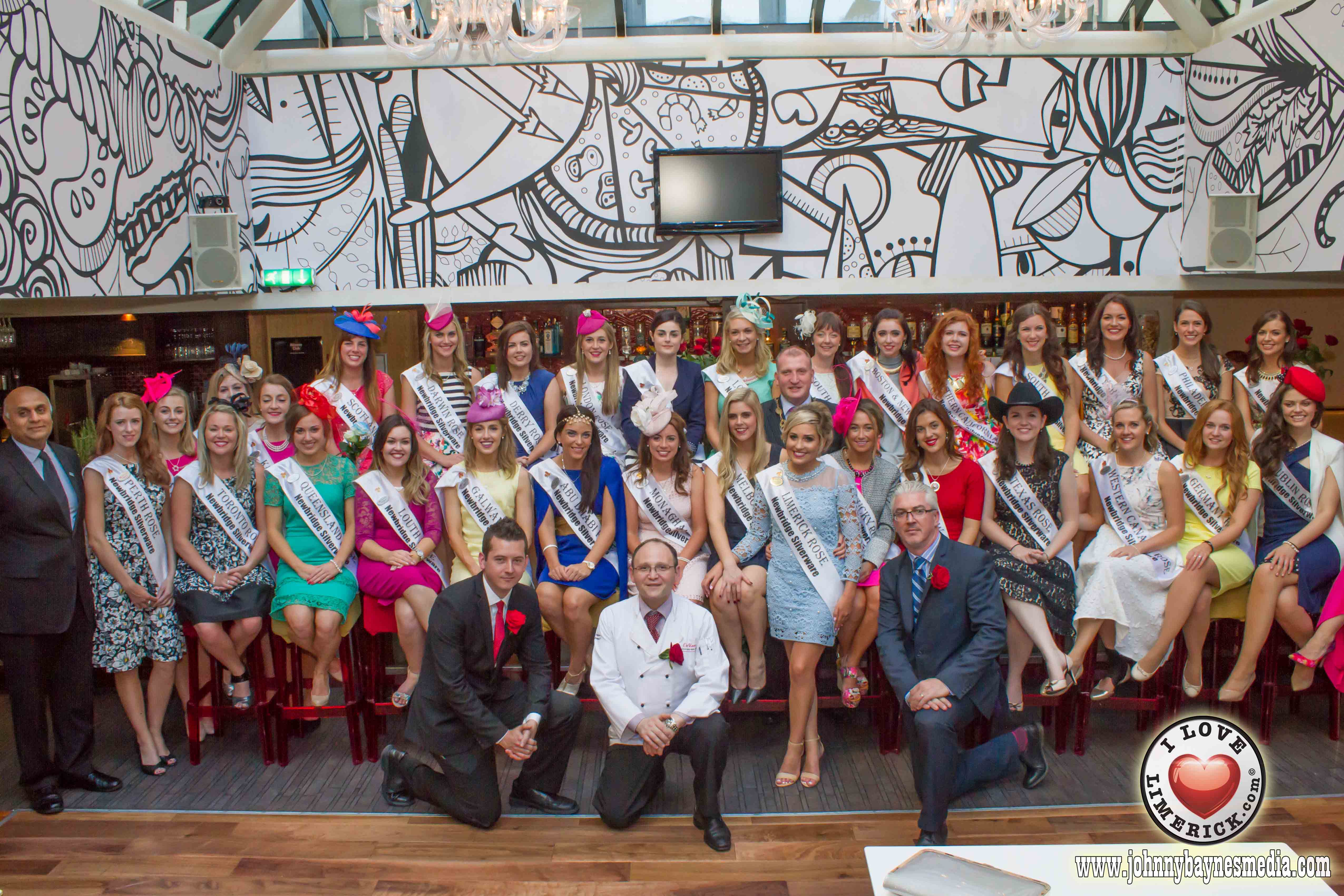 The 2015 International Rose of Tralee Festival almost at its end