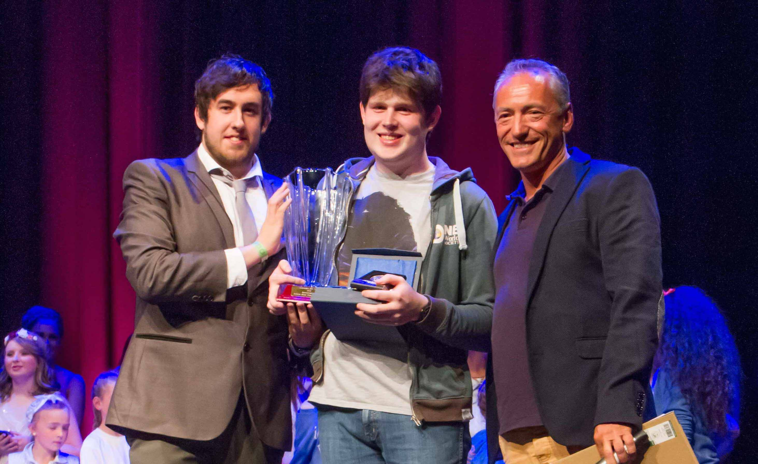 Paul McNamara named Limericks Got Talent 2015 overall winner