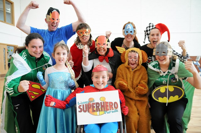 Super Hero Parade 2015 in aid of Mid West Spina Bifida August 23