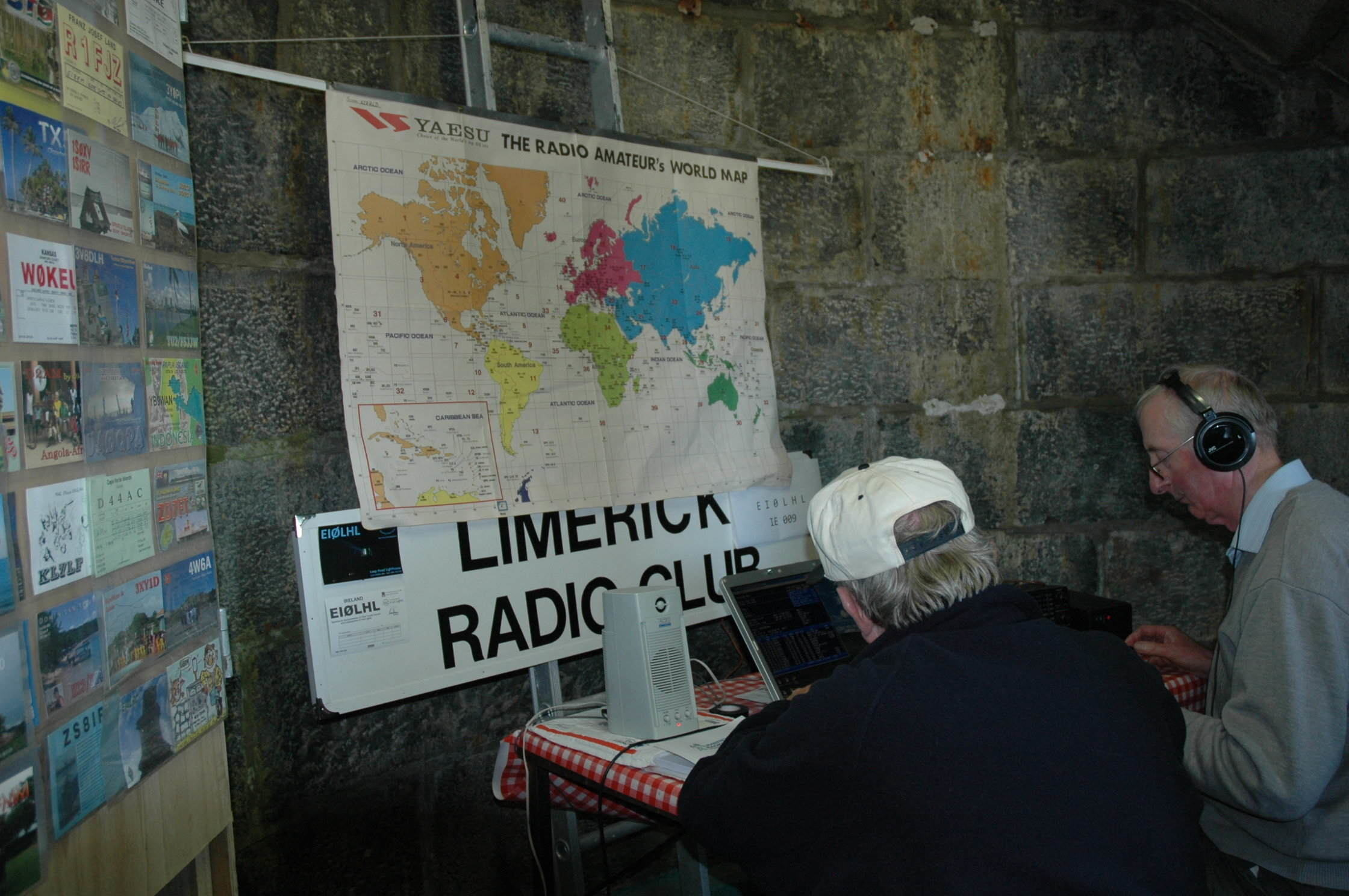 Loop Head Lighthouse, the Limerick Radio Club with Wild Atlantic Way